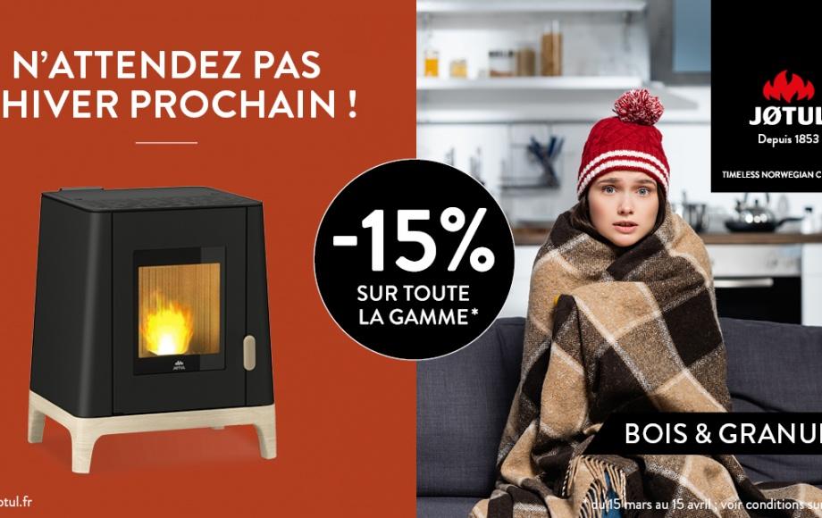 LE MOIS JOTUL -15% SUR TOUTE LA GAMME !