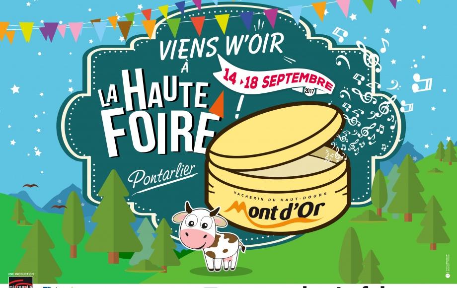LA HAUTE FOIRE - PONTARLIER du 12 au 16 septembre 2019 !