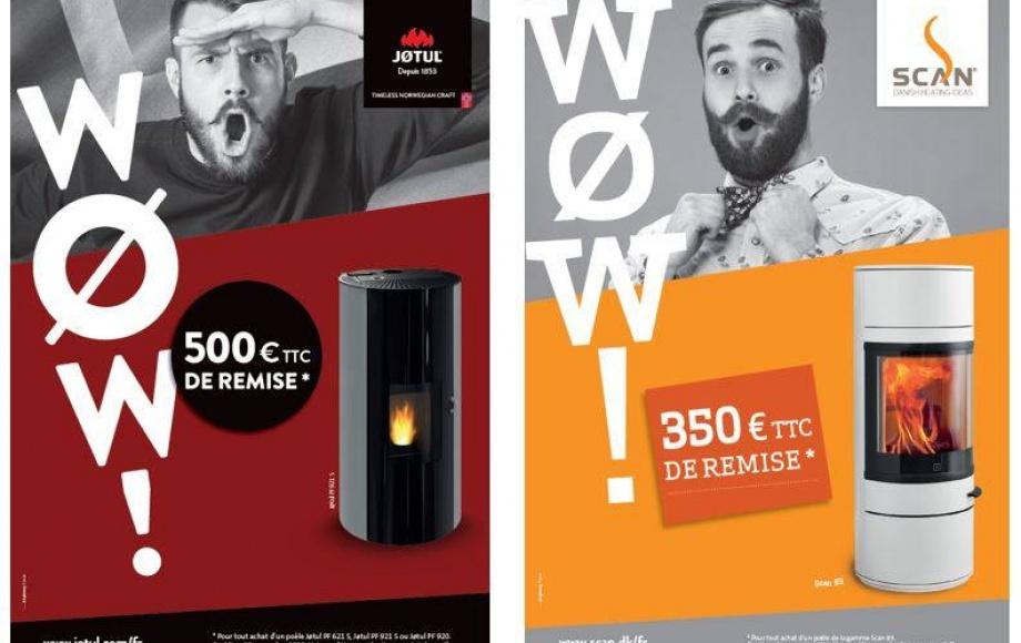 """Les Offres """"WOW """" jusqu'à 500€ TTC de remise* du 1/11 au 30/11/18 !"""