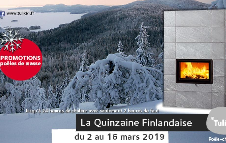 QUINZAINE FINLANDAISE DU 2 AU 16 MARS 2019